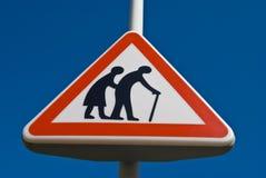 Gente più anziana Fotografie Stock Libere da Diritti