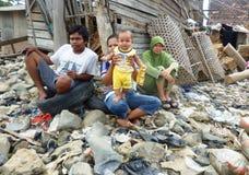 Gente pobre Imagen de archivo libre de regalías