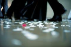 Gente que baila, tiro del detalle Imágenes de archivo libres de regalías
