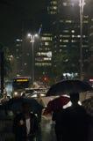Gente que recorre en la calle Foto de archivo