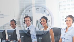 Gente que trabaja en Callcenter