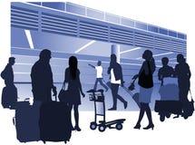 Gente que viaja Foto de archivo