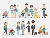 Gente que viaja Fotos de archivo