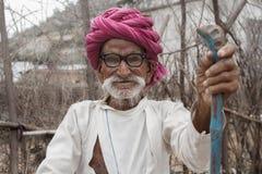 Gente rurale indiana immagini stock