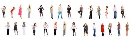 Gente separada Imagen de archivo libre de regalías