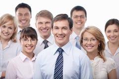 Gente sonriente imagenes de archivo