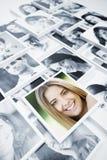 Gente sonriente imagen de archivo