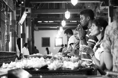 Gente srilanquesa Fotografía de archivo libre de regalías