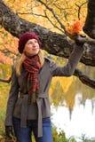 Gente: Sueño del otoño Fotografía de archivo