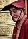 Gente tibetana Immagine Stock