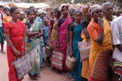 Gente tribal en la India Fotografía de archivo libre de regalías
