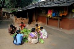 Gente tribal en la India Imagen de archivo libre de regalías