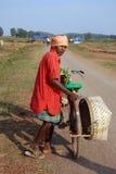 Gente tribal en la India Fotos de archivo