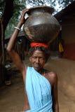 Gente tribal en la India Imágenes de archivo libres de regalías