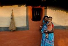 Gente tribal en la India Imagenes de archivo