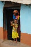 Gente tribale in India Immagini Stock