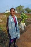 Gente tribale in India Immagini Stock Libere da Diritti