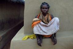 Gente tribale in India Fotografia Stock Libera da Diritti