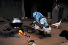 Gente tribale in India Fotografie Stock
