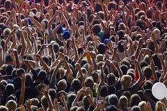Gente trionfante Immagine Stock Libera da Diritti