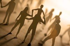 Gente unita Fotografia Stock