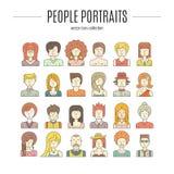 Gente variopinta Fotografie Stock