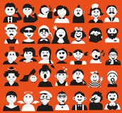 Gente y edad Imagen de archivo