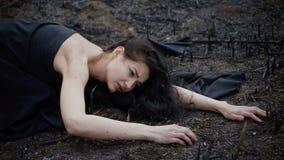 Gente y naturaleza de muerte Concepto de la ecología metrajes