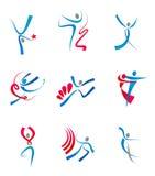 Gente y sportsmens del baile