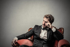 Gentelman Royalty Free Stock Photography