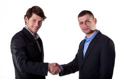 Gentelman's agreement Royalty Free Stock Image