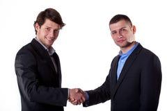 Gentelman's agreement Royalty Free Stock Image