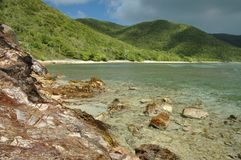 Genti Bay, St. John Royalty Free Stock Photos
