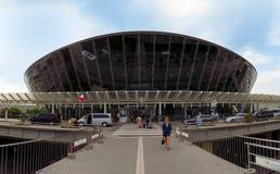 Gentil - aéroport de dAzur de Cote images libres de droits