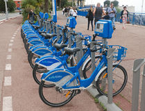 Gentil - bicyclettes photo stock