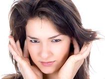 Gentil brunette Image libre de droits
