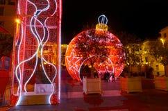 Gentil décoré pour Noël, France photo libre de droits