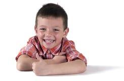Gentil enfant drôle 1 Photo stock