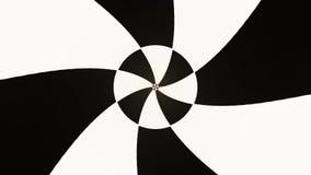 Gentil frais de spirale de boucle d'animation de fond de nouveau de qualité style sans couture hypnotique mesmeric sans fin blanc illustration de vecteur