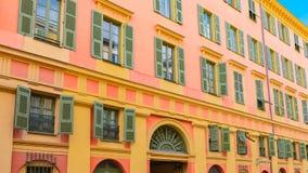 Gentil, France, fa?ade color?e image libre de droits