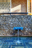 Gentil, Frances - 22 octobre 2011 Base Maeght Sculpturs dans le jardin extérieur Photographie stock
