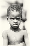 Gentil garçon ghanéen Images stock