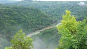 Gentil voir la vue de la colline Images libres de droits