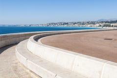 Gentil - vue de Nizza photos libres de droits
