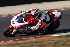 Gentile di Flavio Augusto - Ducati 1198R - Althea Immagine Stock