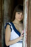 Gentille fille. Photo stock