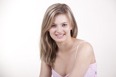 Gentille fille Photographie stock