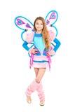 Gentille fille dans le costume féerique Photographie stock libre de droits