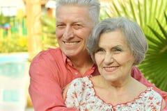 Gentilles personnes âgées Photo stock
