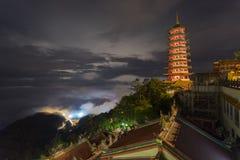 Genting Górska Świątynna pagoda Fotografia Royalty Free